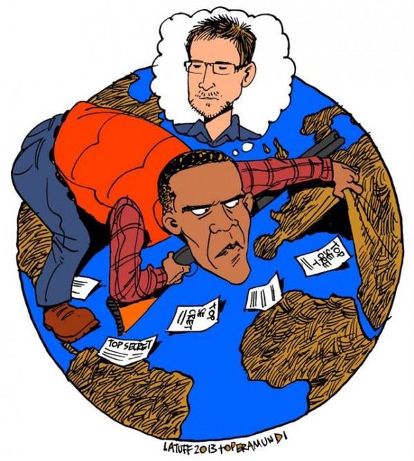 Charge de Latuff para o Opera Mundi
